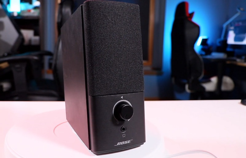 Bose companion speakers are best computer speakers under 100