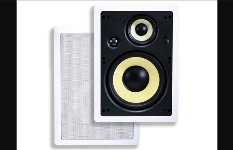 Monoprice caliber in wall speakers