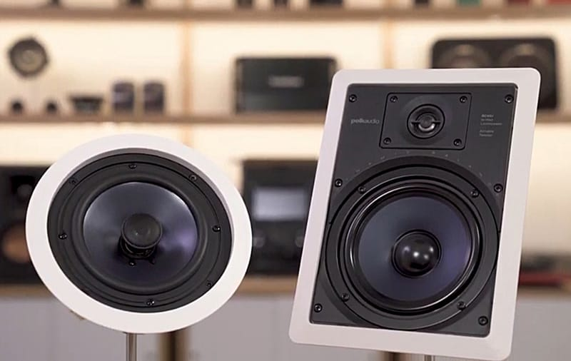 Polk Audio RC85i is one of the top rated ceiling speakers