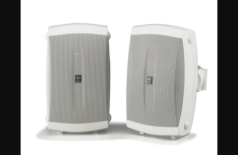 Yamaha NS-AW150WH wall mounted speakers