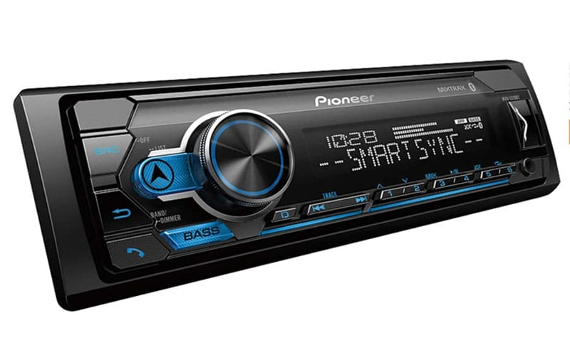 Pioneer MVH-S310BT is one of the best single din car stereo
