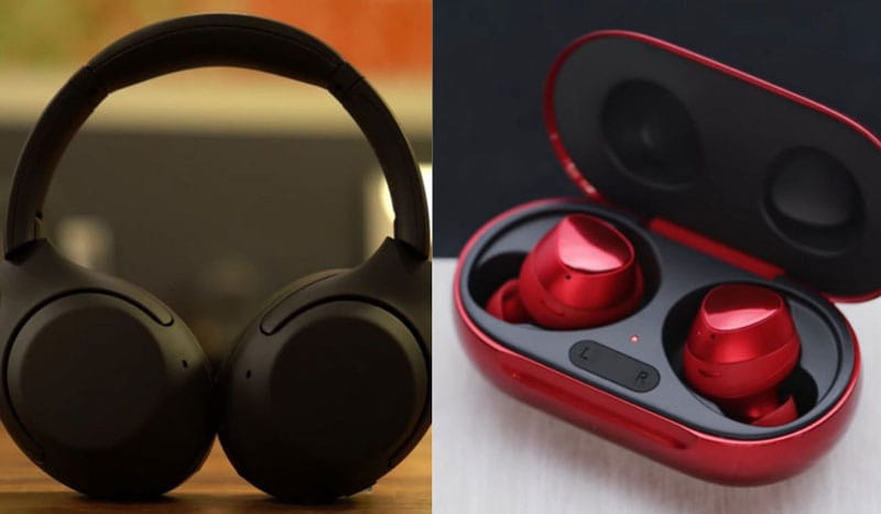 Over The Ear Headphones Vs Earbuds. Choose The Best One.