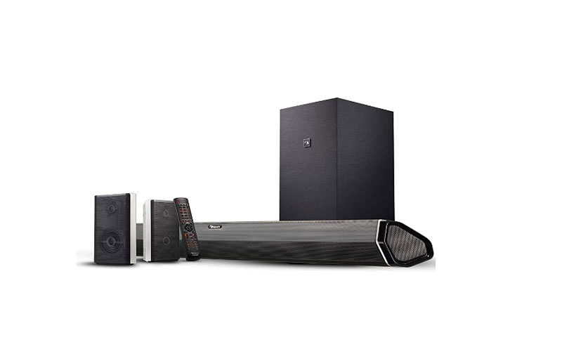 Nakamichi Shockwafe Pro 7.1.4 in should a subwoofer be on the floor