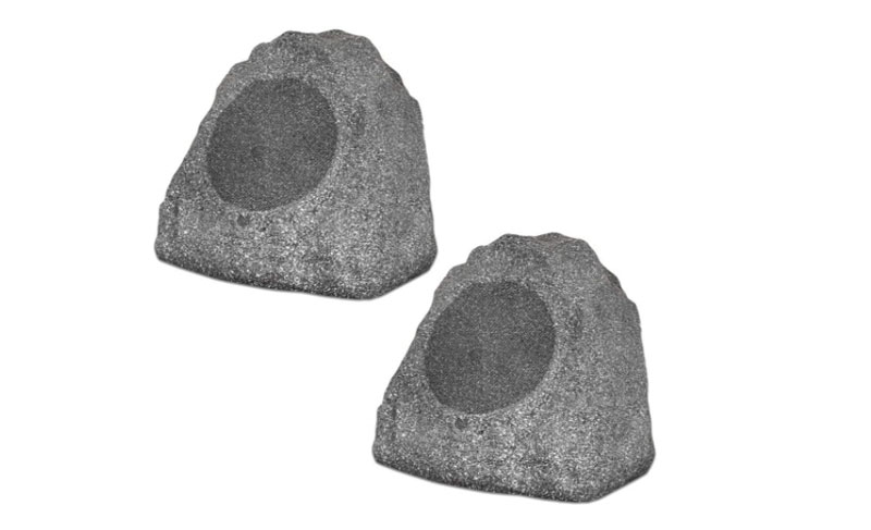 Theater Solutions 2R8G rock speakers