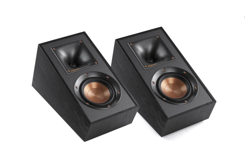 Klipsch R-41SA is the best on wall speakers for home theater