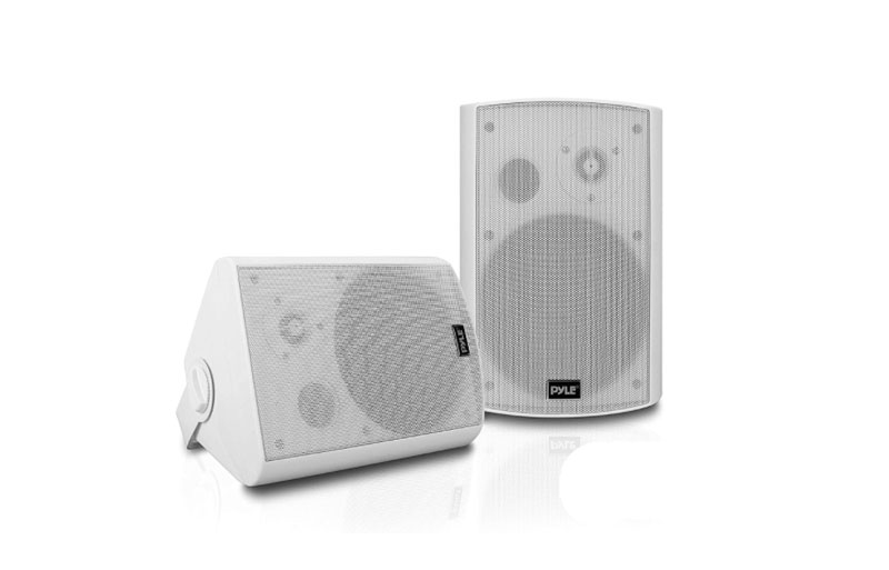 """Pyle Universal 6.5"""" are one of the best on wall speakers for home theater"""