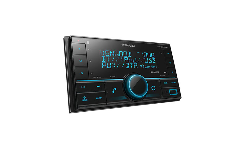 Kenwood DPX304MBT is best budget kenwood double din stereo system