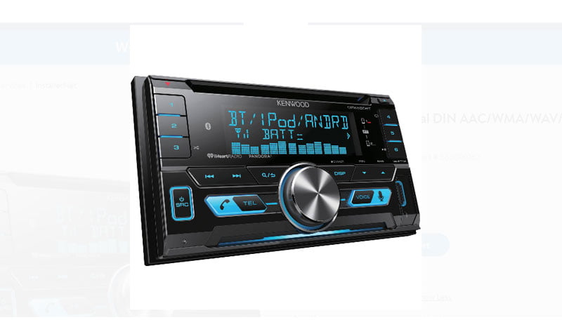 Kenwood DPX530BT double din system
