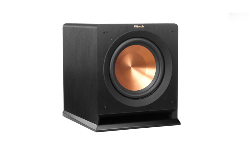 Klipsch R-110SW is one of the best 10 inch subwoofer