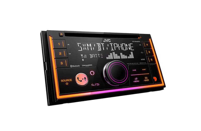 JVC KW-R940BTS is one of the best double din car stereo system