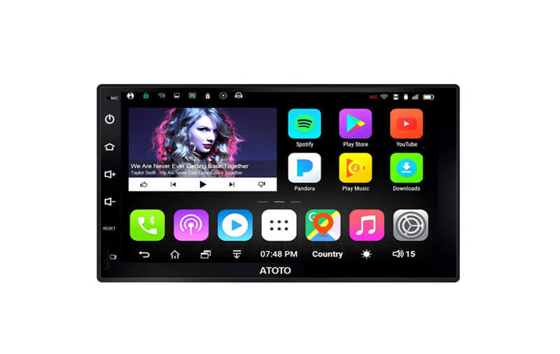 atoto a6 pro best double din car stereo