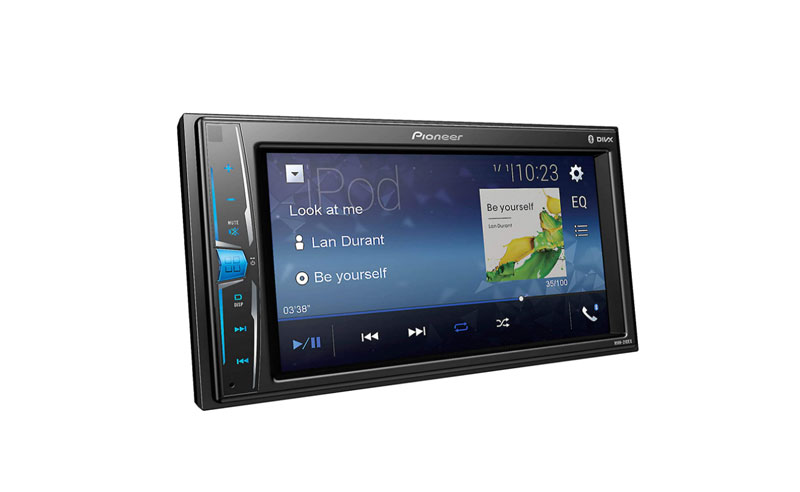 pioneer mvh 210 ex double din stereo